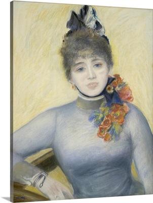 Caroline Remy ('Severino'), by Auguste Renoir, 1885