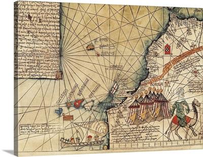 Catalan atlas of Abraham and Jafuda Cresques (1375)