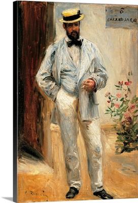 Charles Le Coeur, by Pierre-Auguste Renoir, 1874. Musee d'Orsay, Paris, France