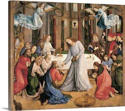 Communion Of The Apostles, By Giusto Da Guanto, C. 1473-1474. Urbino, Italy
