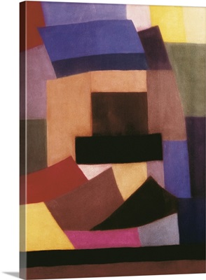 Composition. Geometric Abstract Painting, 1930. By Otto Freundlich