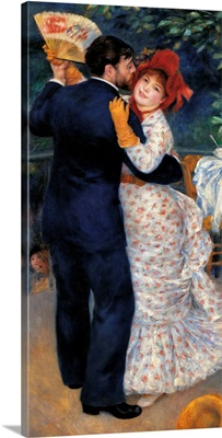 Country Dance, By Pierre-Auguste Renoir, 1883. Musee D'Orsay, Paris, France