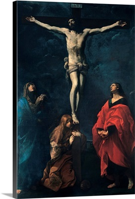 Crucifixion, by Guido Reni, 1617. Bologna, Italy