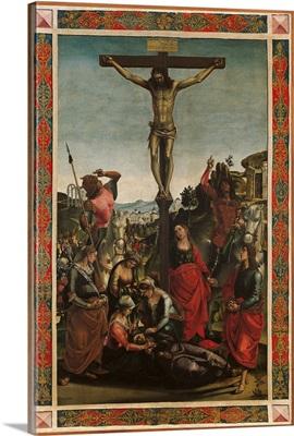 Crucifixion, By Luca Signorelli, 1494. Urbino, Italy
