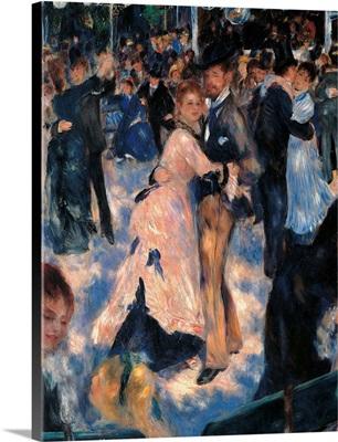 Dance at the Moulin de la Galette, by Pierre-Auguste Renoir, 1876. Musee d'Orsay, Paris