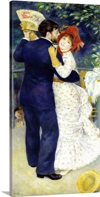 Dance in the Country, 1883, By French impressionist Pierre Auguste Renoir