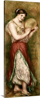 Dancing Girl with Tambourine. 1909. By Pierre-Auguste Renoir. Orsay Museum