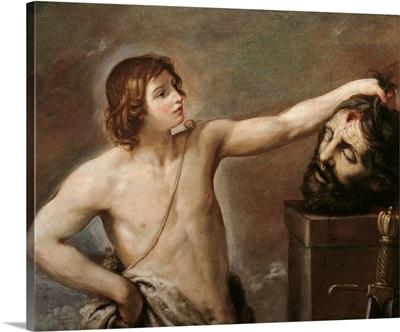 David Contemplating The Head Of Goliath, By Guido Reni, 1640.