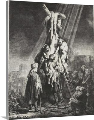 Descent from the Cross, by Rembrandt van Rijn, 1633