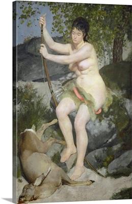 Diana, by Auguste Renoir, 1867