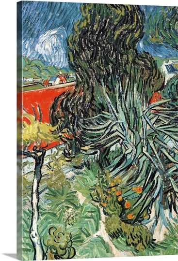 dr gachet 39 s garden at auvers by vincent van gogh 1890 musee d 39 orsay paris france wall art