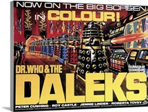 Dr. Who and the Daleks - Vintage Movie Poster