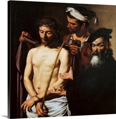 Ecce Homo, By Caravaggio, C. 1605. Palazzo Bianco Gallery, Genoa, Italy