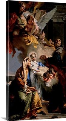 Education of the Virgin Mary, by Giambattista Tiepolo, 1732. Venice, Italy