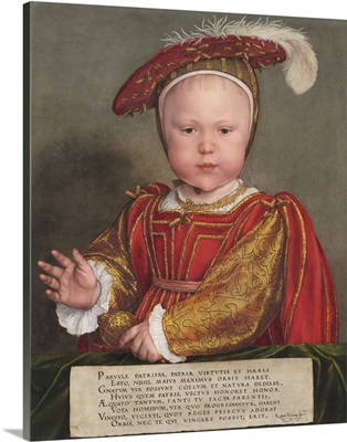 Edward VI as a Child, by Hans Holbein the Younger, 1538