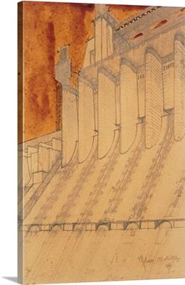 Electric Power Plant, by Antonio Sant'Elia, 1914. Italy