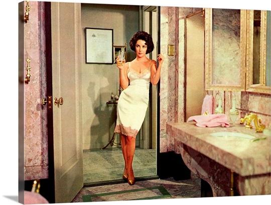 Elizabeth Taylor in Butterfield 8 - Movie Still Wall Art ...