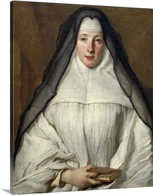 Elizabeth Throckmorton, Canoness of the Order of the Dames Augustines