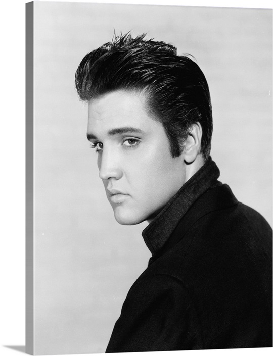 Elvis presley ca 1957 head shot