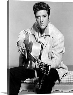 Elvis Presley in Jailhouse Rock - Vintage Publicity Photo