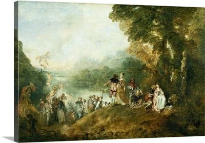 Embarkation for Cythera, 1717