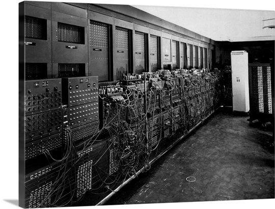 ENIAC computer was the first general-purpose electronic digital ...
