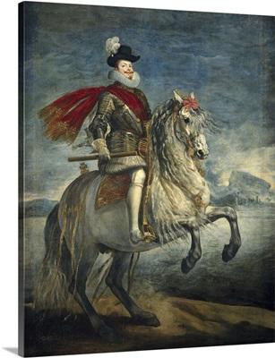 Equestrian Portrait of Philip III
