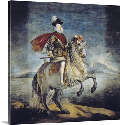 Equestrian Portrait of Philip III, 1629-35