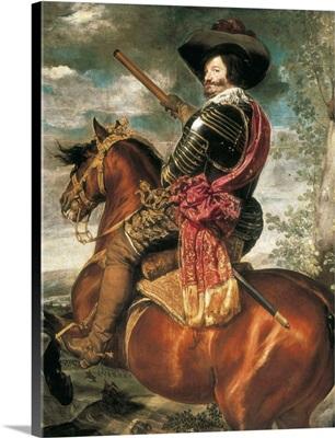 Equestrian Portrait of the Count-Duke of Olivares, 1634