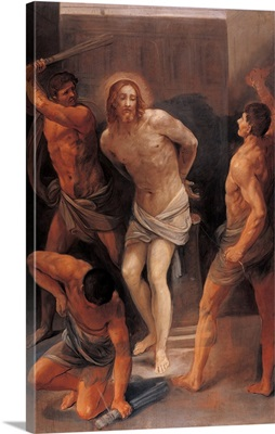 Flagellation Of Christ, By Guido Reni, 1640-1642. National Gallery, Bologna, Italy