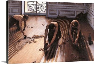 Floor Planers, By Gustave Caillebotte, 1875. Musee D'Orsay, Paris, France
