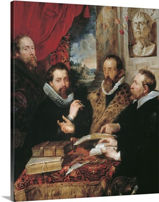 Four Philosophers, By Peter Paul Rubens, 1612. Palazzo Pitti, Florence, Italy