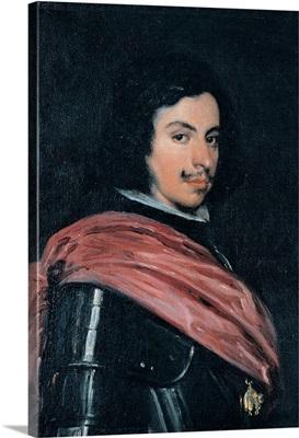 Francesco I of Este, by Diego Rodriguez Velazquez, 1639. Estense Gallery, Modena, Italy