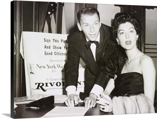 Frank Sinatra and Ava Gardner Wall Art, Canvas Prints, Framed Prints ...