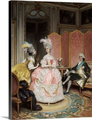 French Brothel in 18th Century, 19th Century French Painting