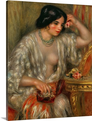 Gabrielle with Jewelry, 1910