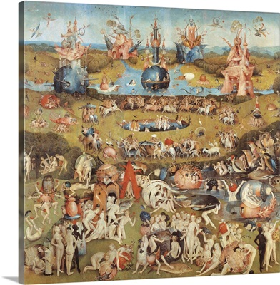 Garden Of Earthly Delights, (Martyrs and Angels) C. 1503-04.