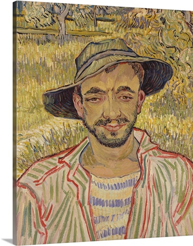 Gardener by vincent van gogh 1889 national gallery modern art rome