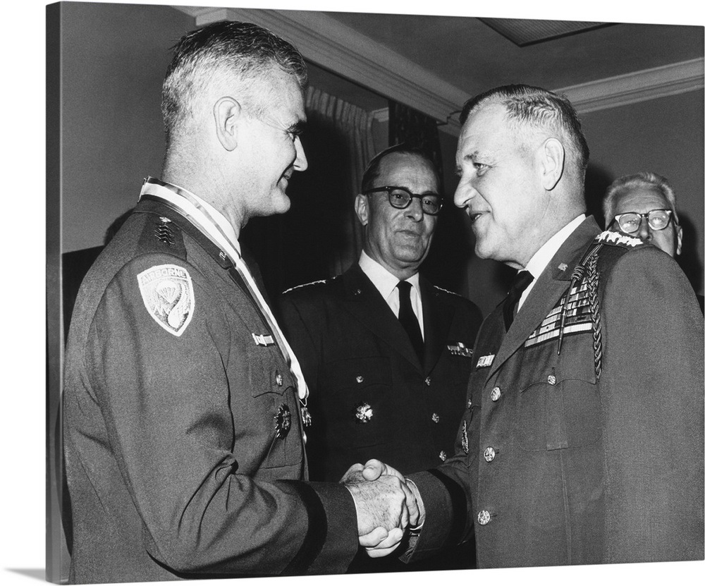 Gen. Creighton Abrams replaced...