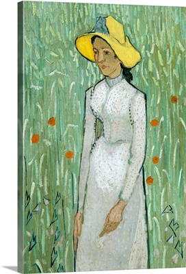 Girl in White, by Vincent van Gogh, 1890