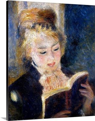Girl Reading, 1874-1876