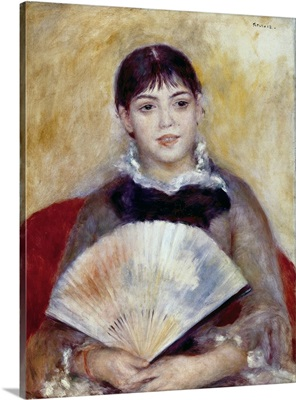 Girl with a Fan. 1881