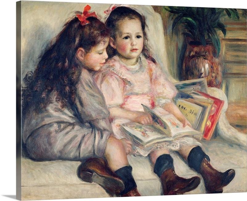 Pierre-Auguste Renoir,Head of a Young Girl,Fat girl,canvas print,canvas art,canvas wall art,large wall art,framed wall art,p628