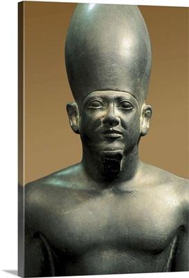 Goddess Hathor, detail of the Triad of Menkaure