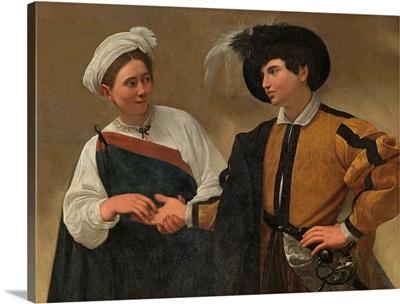 Good Luck, by Caravaggio, c. 1593-1594. Palazzo dei Conservatori, Rome, Italy