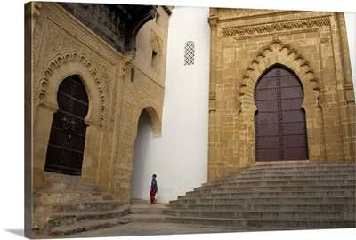 Great Mosque and Madrasa.11-14th c. Sale, Morocco