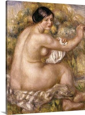 Great Sitting Nude. 1912. By Pierre-Auguste Renoir. Sao Paulo Museum, Brazil