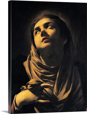 Grieving Madonna, French painting by Simon Vouet, 1624-25