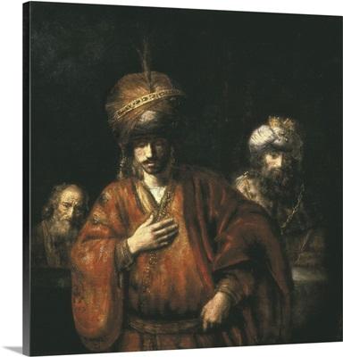 Haman Recognizes his Fate. 1665