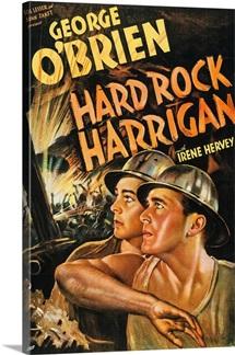 Hard Rock Harrigan - Vintage Movie Poster, 1935